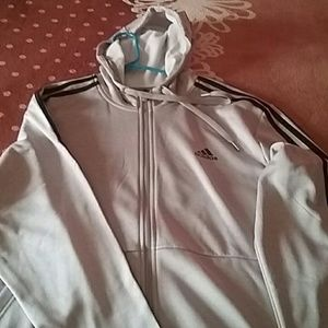 Adidas Fleece with hoody.